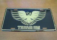Pontiac Trans Am Metal License Plate