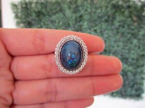 6-81-Carat-Opal-w-90-CTW-Diamond-Ring-14k-White-Gold-R177-sep