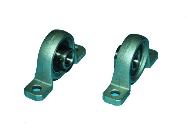 2pc 10mm KP000  Mounted Ball Bearing  Block  KP Serials