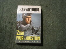 SAN ANTONIO 643: Zéro pour la question