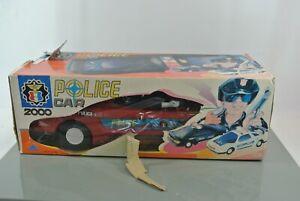 Patrulla-de-policia-Chuan-Shin-2000-coche-Mercedes-Benz-con-figuras-Bateria-Op-con-Caja