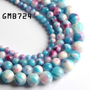 Colorful-Persian-Jades-Natural-Gem-Stone-Beads-Round-Loose-Spacer-Beads-6-8-10MM