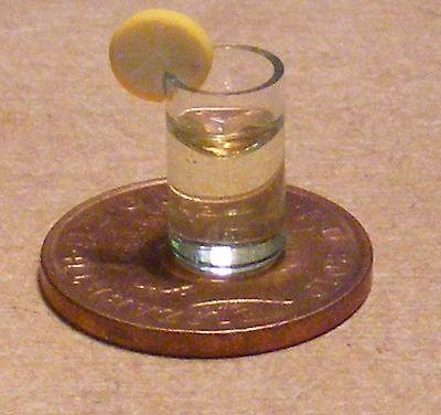 1:12 Scale Jacks Sprat Cocktail In A Glass Tumdee Dolls House Pub Drink CT1