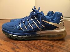 best sneakers b1ecf 2fcc9 item 3 Nike Air Max 2015 Patriot, 698903-043, Blue White, Men s Running  Shoes, Size 9.5 -Nike Air Max 2015 Patriot, 698903-043, Blue White, Men s  Running ...