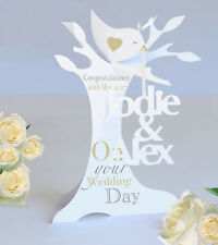 Personalised 3D Popup Paper Cut Wedding/Anniversary/Engagement Card