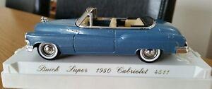 1-43-Diecast-1950-American-Buick-Cabriolet-Convertible-Perfecto-Entubado