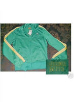Abercrombie & Fitch Moose Logo Green Track Jacket