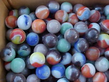 300 MIXED VINTAGE VITRO AGATE MARBLES  FROM A LARGE MIXED LOT $49.99