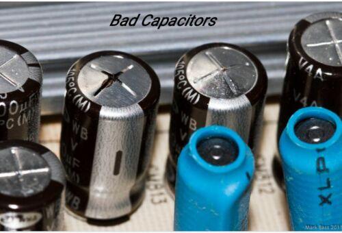 Capacitors Repair Kit for Television x 10pcs.