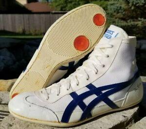 Dan Gable Tiger Wrestling Shoes Size