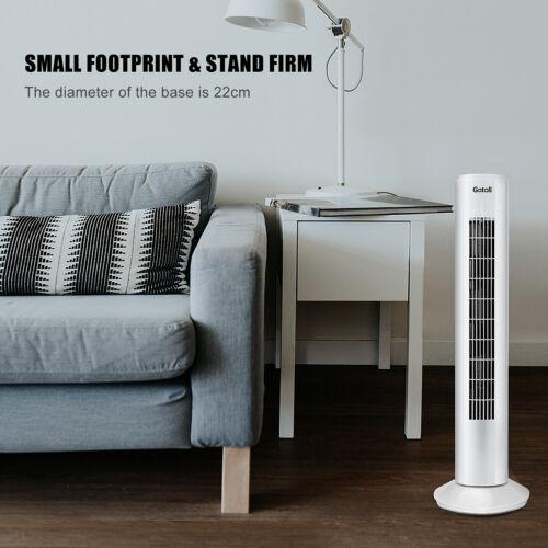 Turmventilator Standventilator Ventilator Towerventilator Säulenventilator Weiß