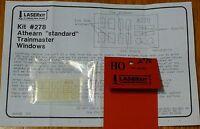 American Model Builders, Inc Ho 278 Pre-masked Laser-cut Acrylic Glazing Window