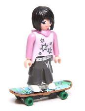 Playmobil Figure Mystery Series 9 Dollhouse Teen Young Woman Skateboard 5599 NEW