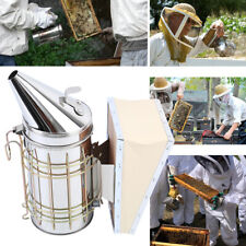 New Listingbee Hive Smoker With Heat Shield Beekeeper Beekeeping Equipment Honey Keeper 11