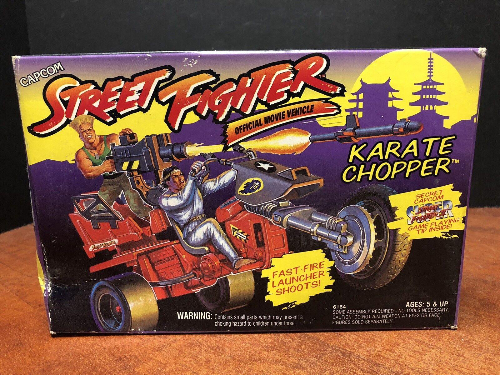 1993 Capcom Street combatiente Karate  Chopper Sealed scatola Dela0430  risparmia il 60% di sconto e la spedizione veloce in tutto il mondo