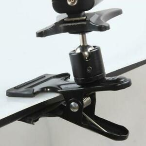 Universal-Flash-Light-Holder-Clamp-Ball-Head-Tripod-Backdrop-Clip-Photograph-Kit