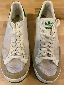 dispersión lavanda Monica  Adidas Rod Laver Hombre Talla 10 Zapatos Tenis Deportivas Verde/Blanco De  Colección Clásico | eBay