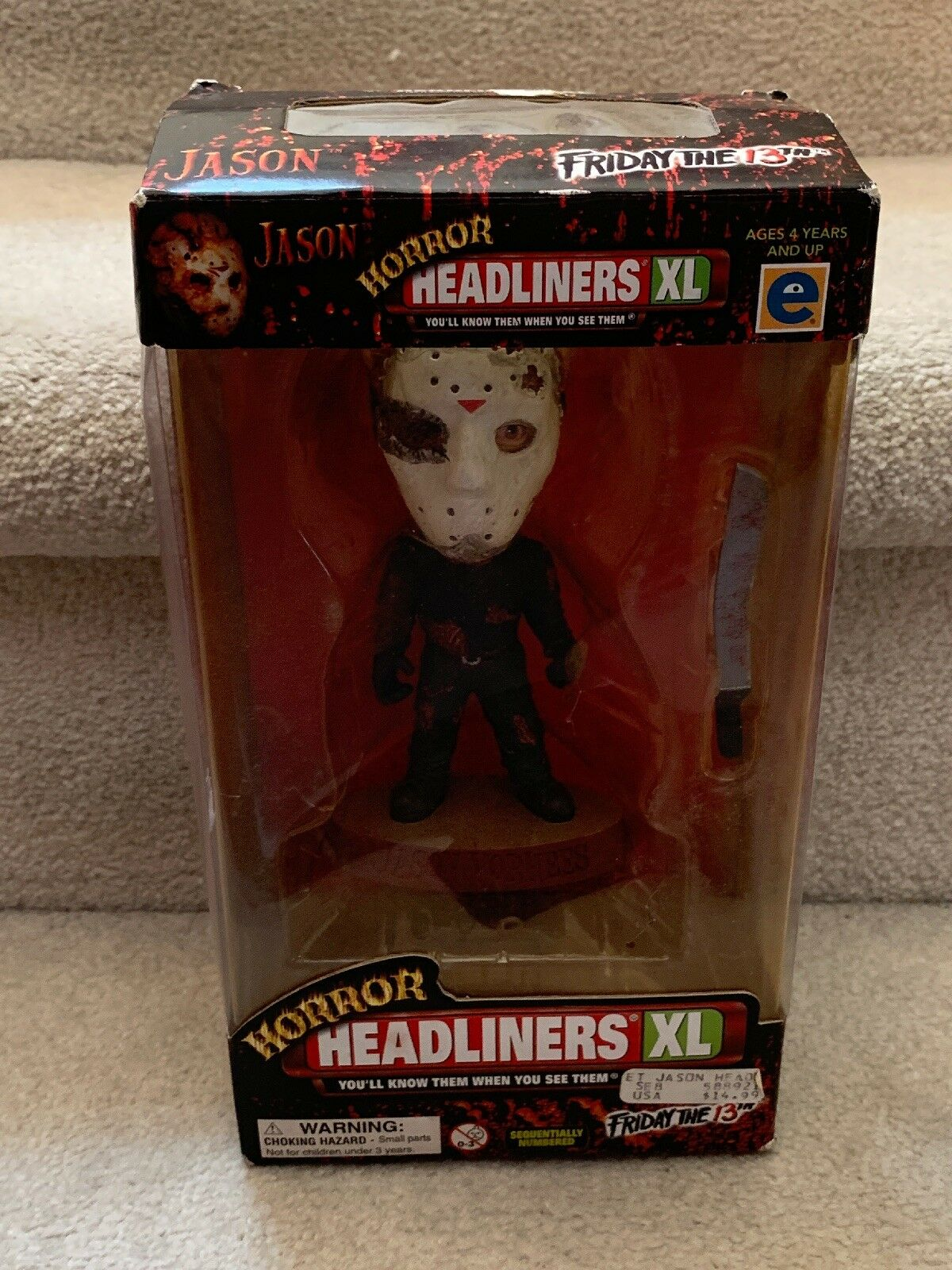 1999 HEADLINERS XL Friday The 13th Jason Voorhees  Horreur Figure nouveau in Box  jusqu'à 70% de réduction