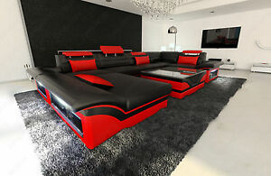 Image is loading Big-Sectional-Sofa-ENZO-U-Shaped-Design-Sofa- : big sectional - Sectionals, Sofas & Couches