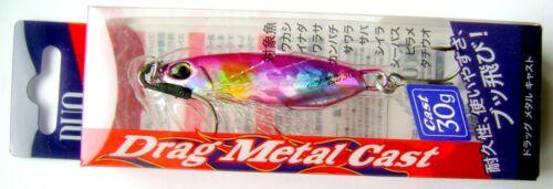 Shore Jigging,JIG,Saltwater Fishing Lure,Hard Bait DUO DRAG METAL CAST JIG 30gr
