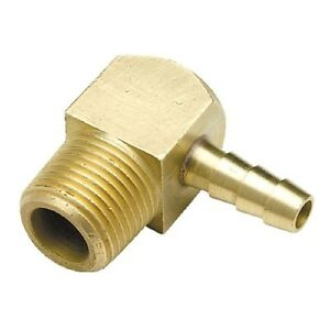 1//4 Inch NPT Male Threads x 3//8 Inch Barb Fuel Tank Anti-Siphon Valve for Boats