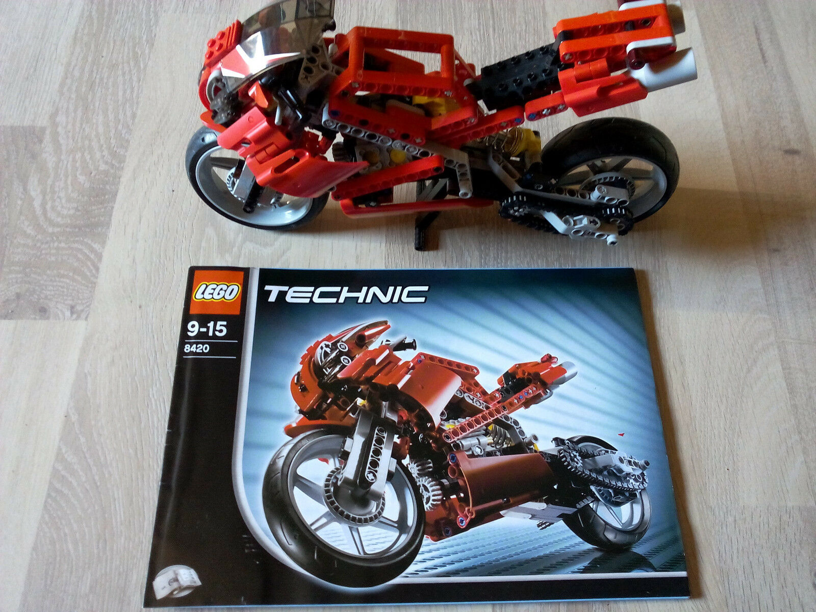 Lego Technic Technik 8420 Street Bike   GUTER ZUSTAND - RARITÄT
