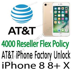 unlock att iphone x