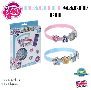 21Pcs-My-Little-Pony-Bracelet-Making-Set-Costume-Jewellery-Toy-Charm-Gift-Bangle