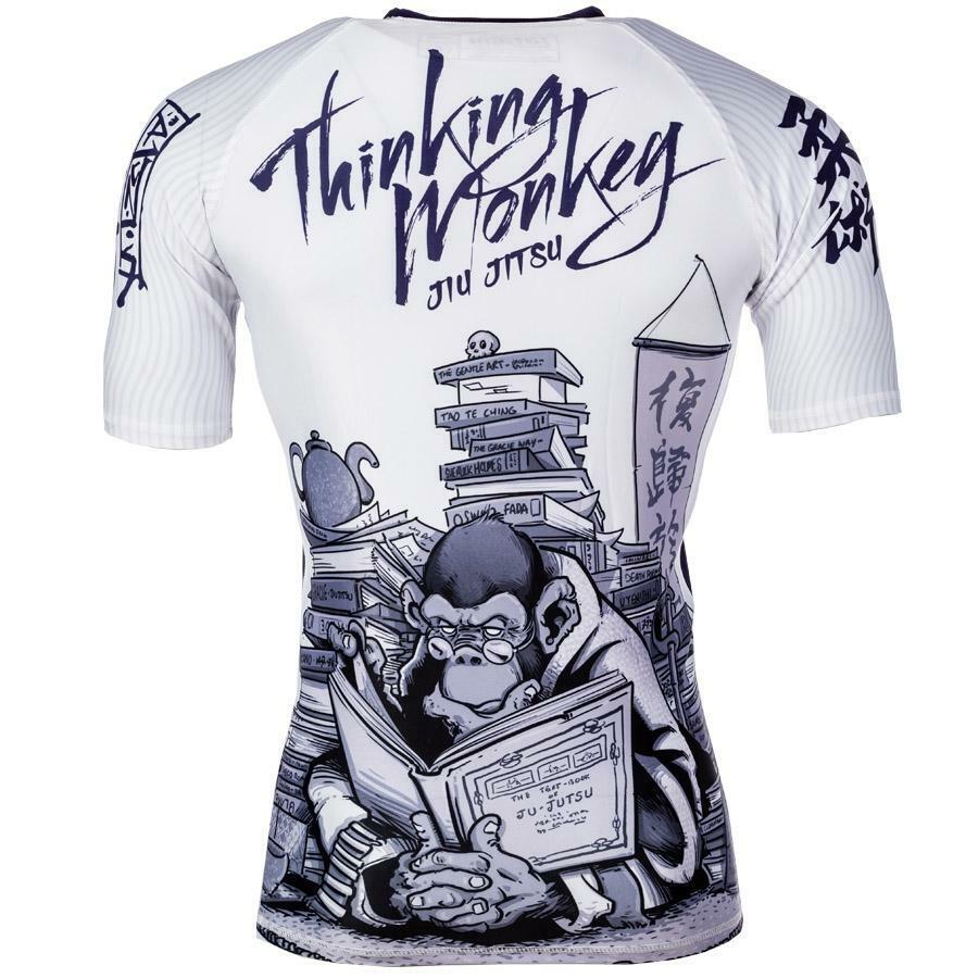 Tatami Thinker Monkey Short Sleeve Guard Rashboard BJJ No-Gi MMA Grappling