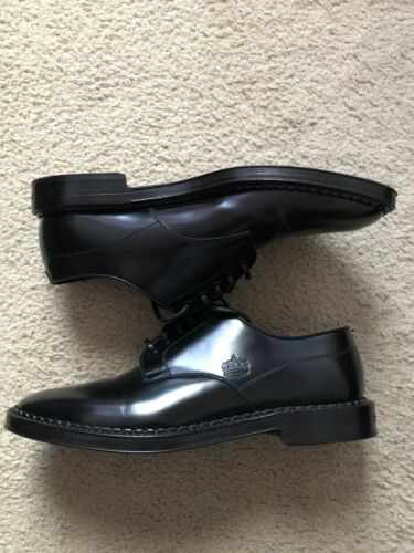 Dolce & Gabbana Mens Leather Derby Shoes Worn Once