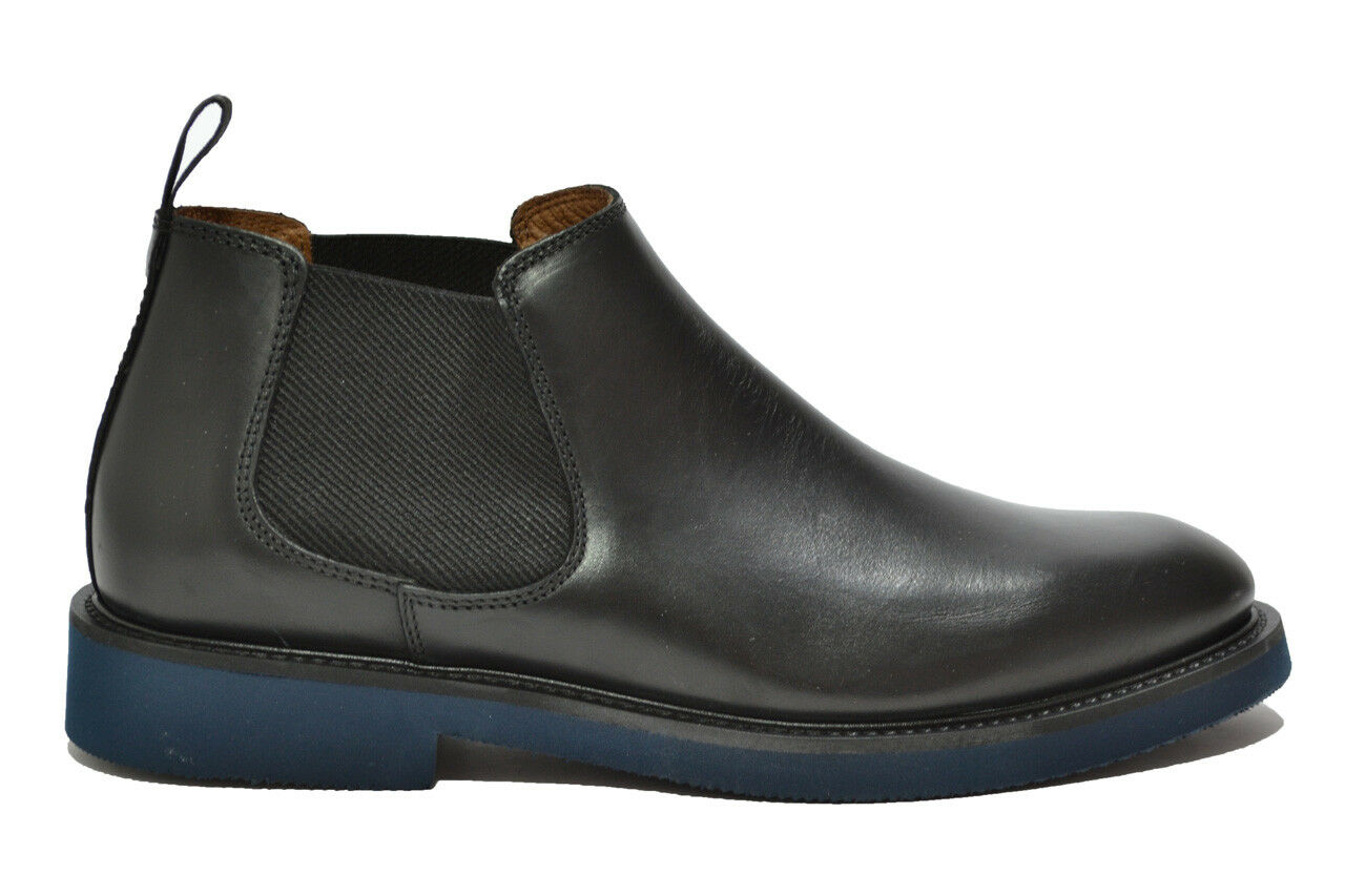 FRAU Polacchini beatles nero scarpe uomo mod. 74P3