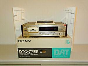 Sony DTC-77ES High-End DAT-Recorder Schwarz, OVP&NEU, 2 Jahre Garantie
