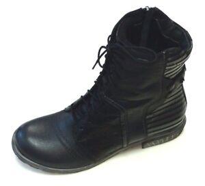 Details about Simen Poland Ladies Shoes Boots Ankle Boot Boots 9767 Black Leather Warm Lining show original title