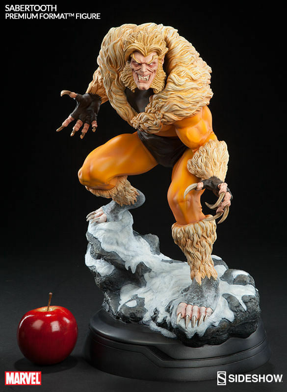 Marvel Collectible Statue Figure Premium Format - Classic Classic Classic Sabretooth Sideshow ddd145