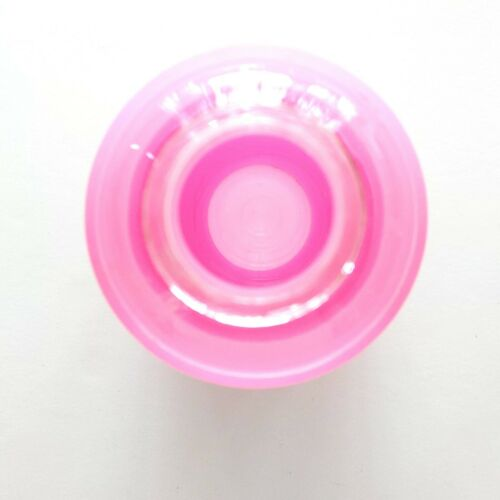 Zyk Eco Friendly Glass Water Bottle Pink Silicone Cover 20 oz
