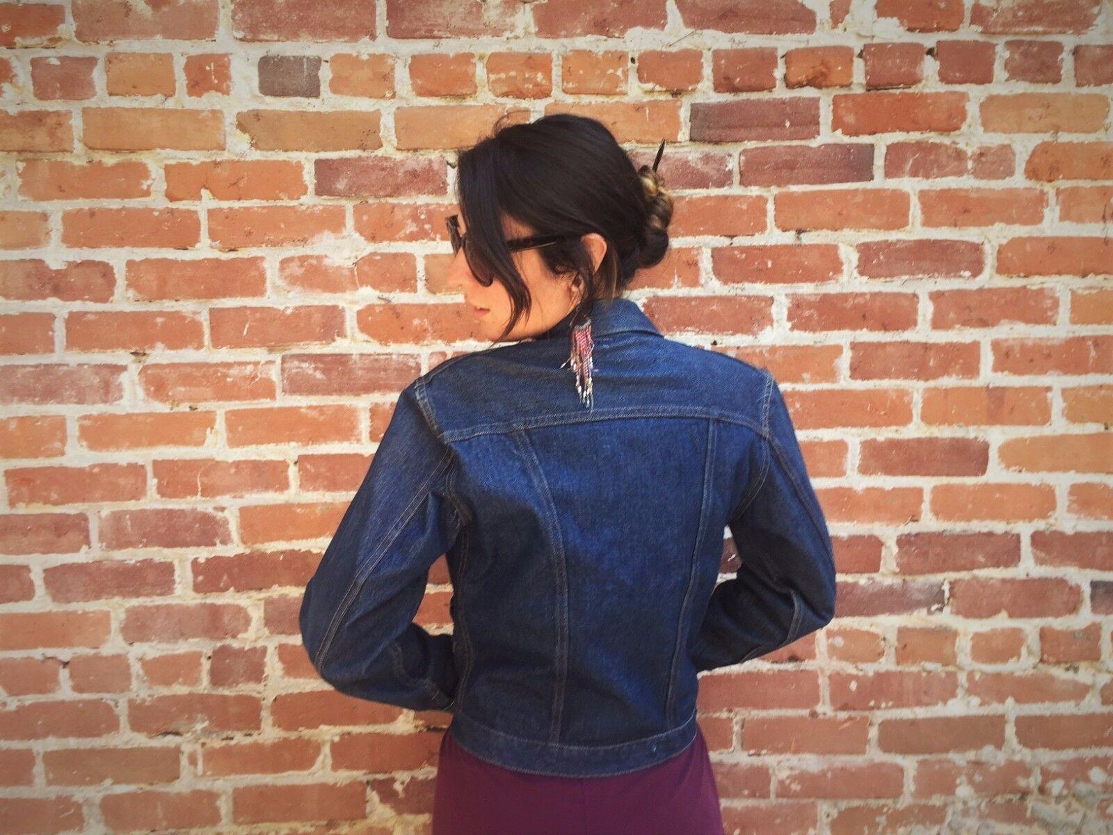 Rare Vintage Wrangler Denim Jacket - 50's/60's - … - image 4