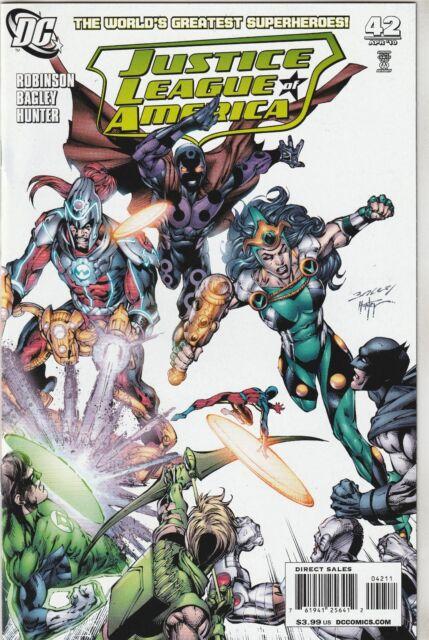 Justice League of America (2006) #42 NM- 9.2 DC Comics Batman,Superman,Flash