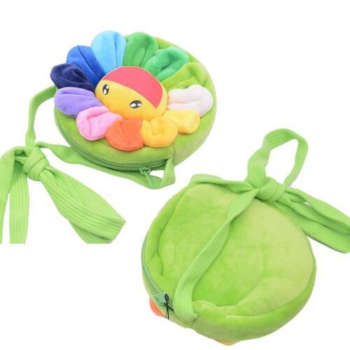Baby Backpack Plush Cute Cartoon Animal Bag Children Kids School Gift 3 Types