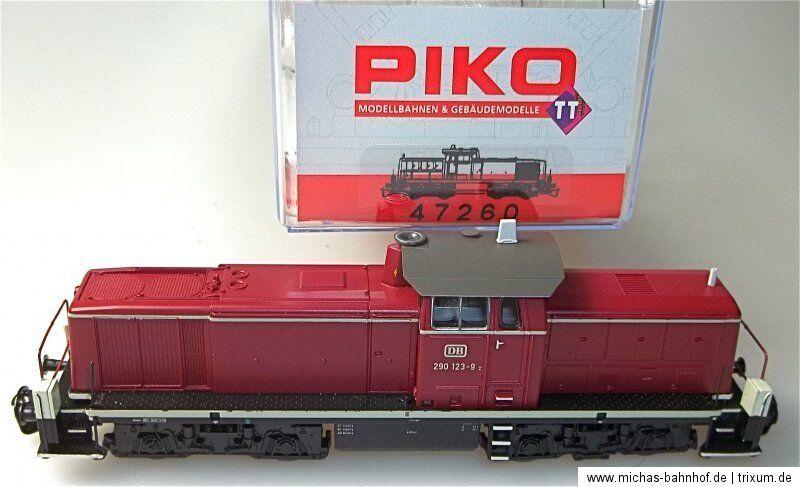 Br 290 123 9 Diesel Ep vi DSS Piko 47260 TT 1:120 NUOVO OVP hk3 *