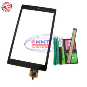 FREE-SHIP-fuer-Amazon-Kindle-Fire-HD8-2016-Schwarz-Touchscreen-Glas-Tool-ZVLU632