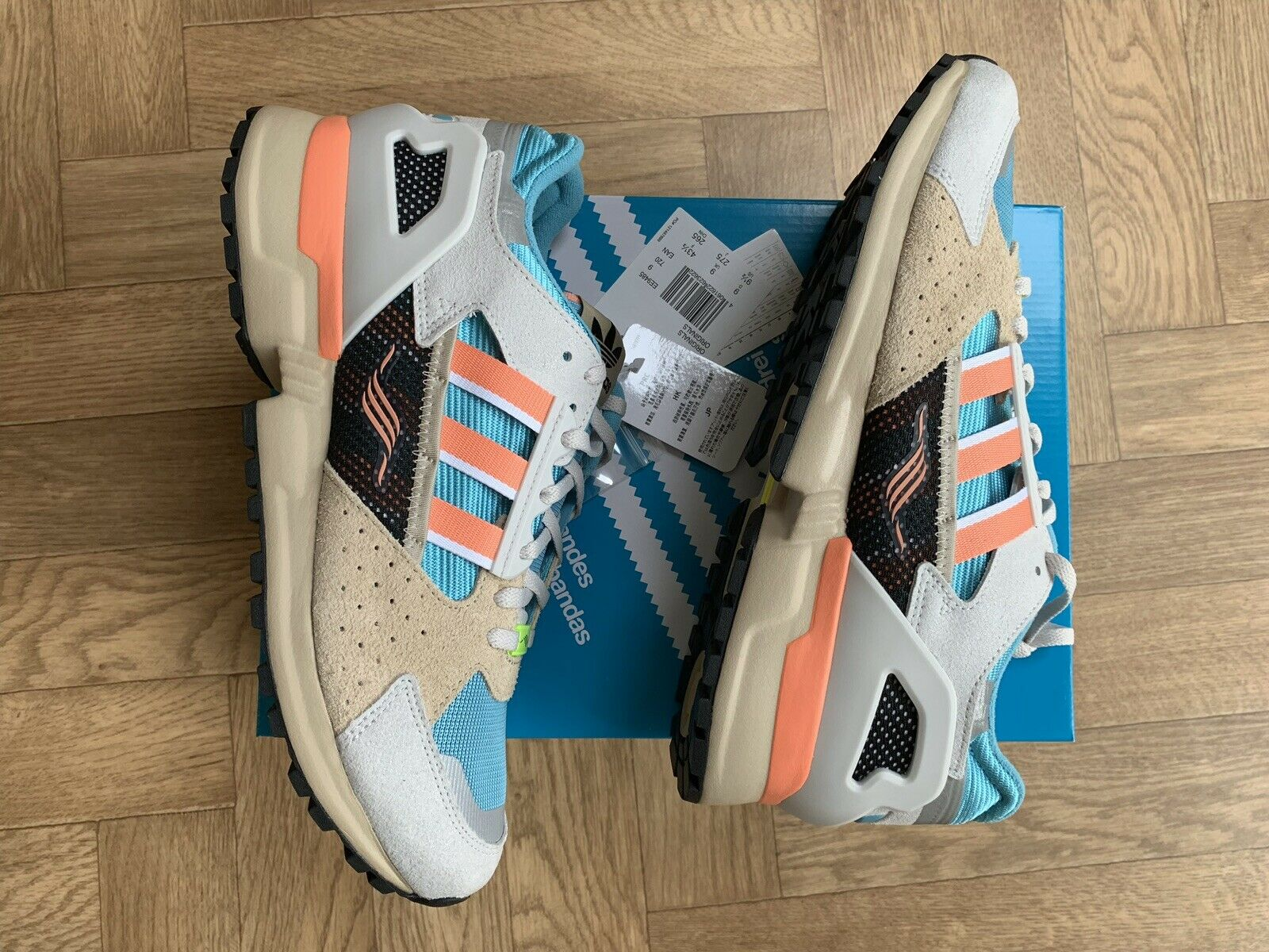 Adidas Consortium ZX 1000C Size 9 Boxed New Rare shoes EE9485