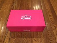Invicta Display Case, 10 Slot Pink Collectors Box