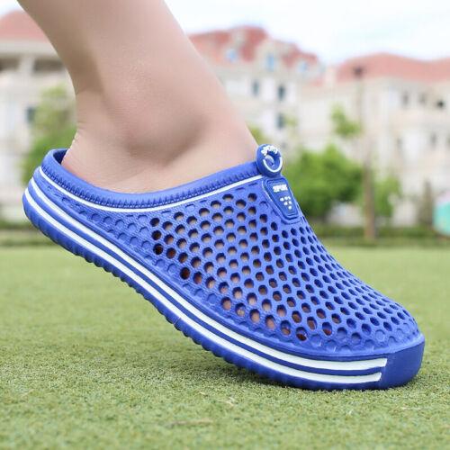 Mens Water Shoes Flat Non-slip Summer Breath Hole Beach Hollow Slippers Womens