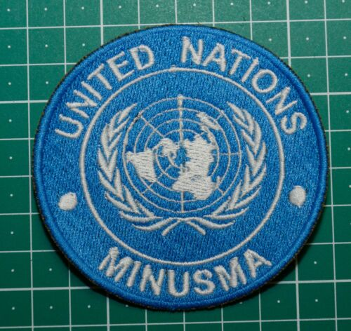 "Bundeswehr United Nations MINUSMA /""UN MINUSMA/"" Patch"