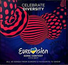 EUROVISION SONG CONTEST - KYIV 2017 (KIEW) - CELEBRATE DIVERSITY * NEW 2CD'S
