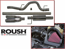 2011-2014 Ford F150 5.0 V8 ROUSH Cat-Back Exhaust & Cold Air Intake Kit