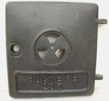 Buckeye 235 Antique Vtg Wood Coal Potbelly Cast Iron Stove Door NOS 104-131