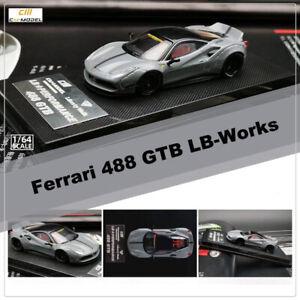 CM-Model-1-64-Ferrari-488-Ducktail-LB-PERFORMANCE-Liberty-Walk-Diecast-Car-Model