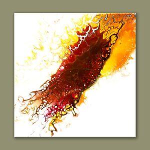 "ORIGINAL ARTWORK 12"" x 12"" CANVAS ABSTRACT ART ACRYLIC PAINTING WALL DECOR"
