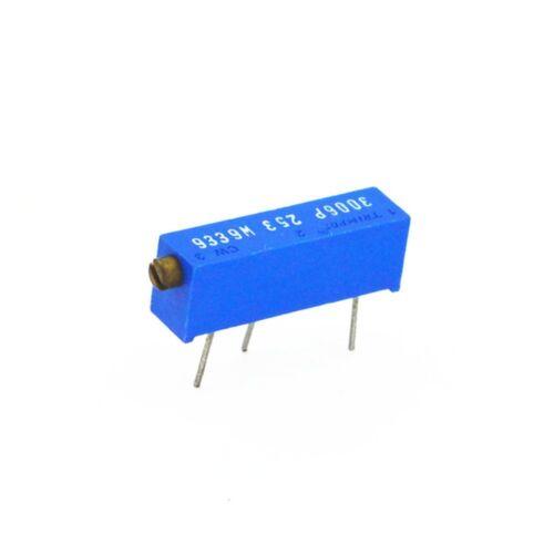 50PCS 3006P-104 3006 Precision Variable Resistor Cermet Potentiometer 100K ohm